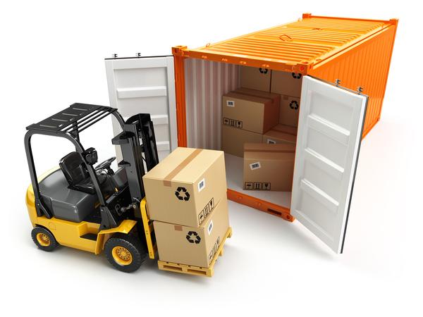 cargo used forklift