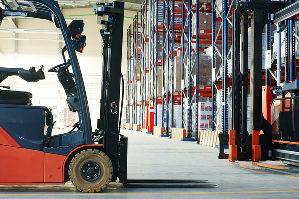 used forklift warehouse